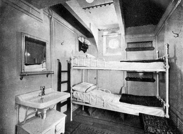 Transatlantic era t n duilio for Ba cabina di prima classe