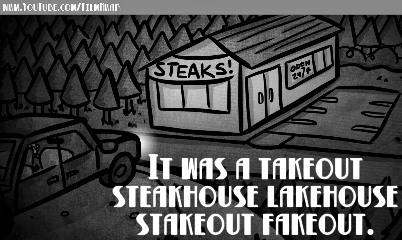 NWAR Detective - Steakhouse stakeout