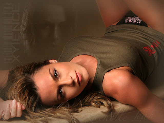 ufc mma ring girl model rachelle leah wallpaper picture image