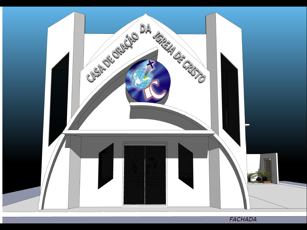 IGREJA DE CRISTO DE CARAÚBAS: Projeto de Reforma da Igreja de Cristo  #1E78AD 1024 768
