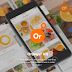 Orange9 Free Mobile App ui PSD