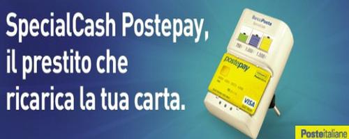 Come richiedere prestito Special Cash Postepay