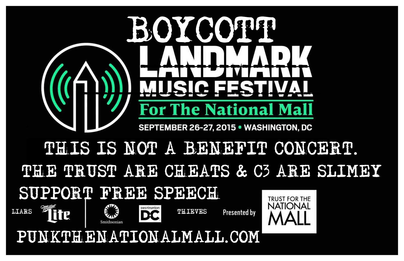 Boycott Landmark