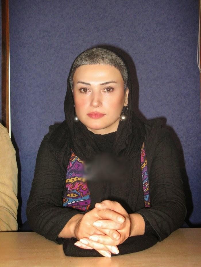 شهرام نیکان بازیگر imgrc مدل موی کاملا متفاوت بازیگر زن ایرانی  عکس
