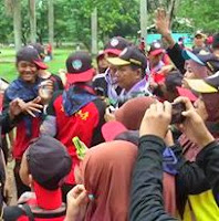 Relawan Pramuka Bandung