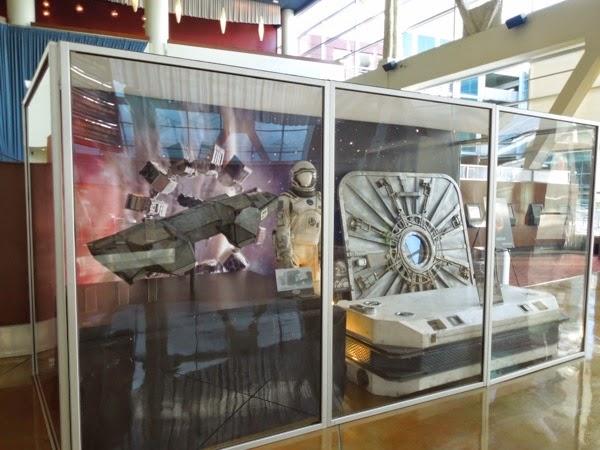 Interstellar spacesuit prop exhibit
