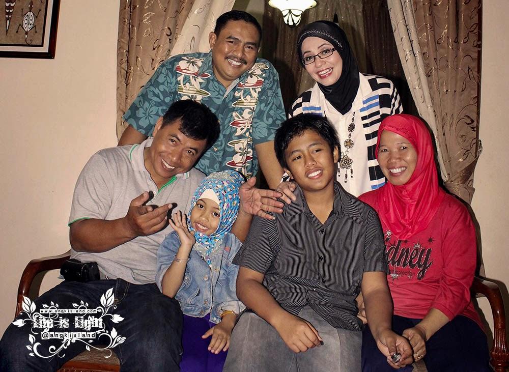 keluarga Pak hery dan Novy kotabaru