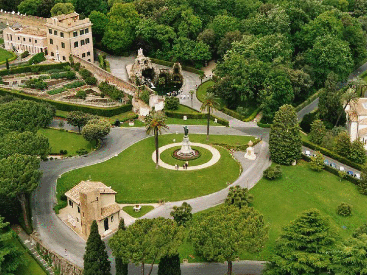 siempreya jardines del vaticano