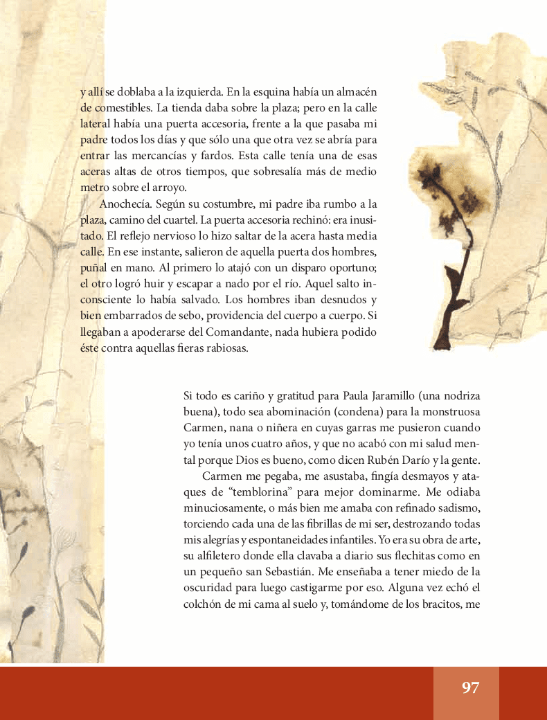 Recuerdos de familia y de infancia - Español Lecturas 6to 2014-2015