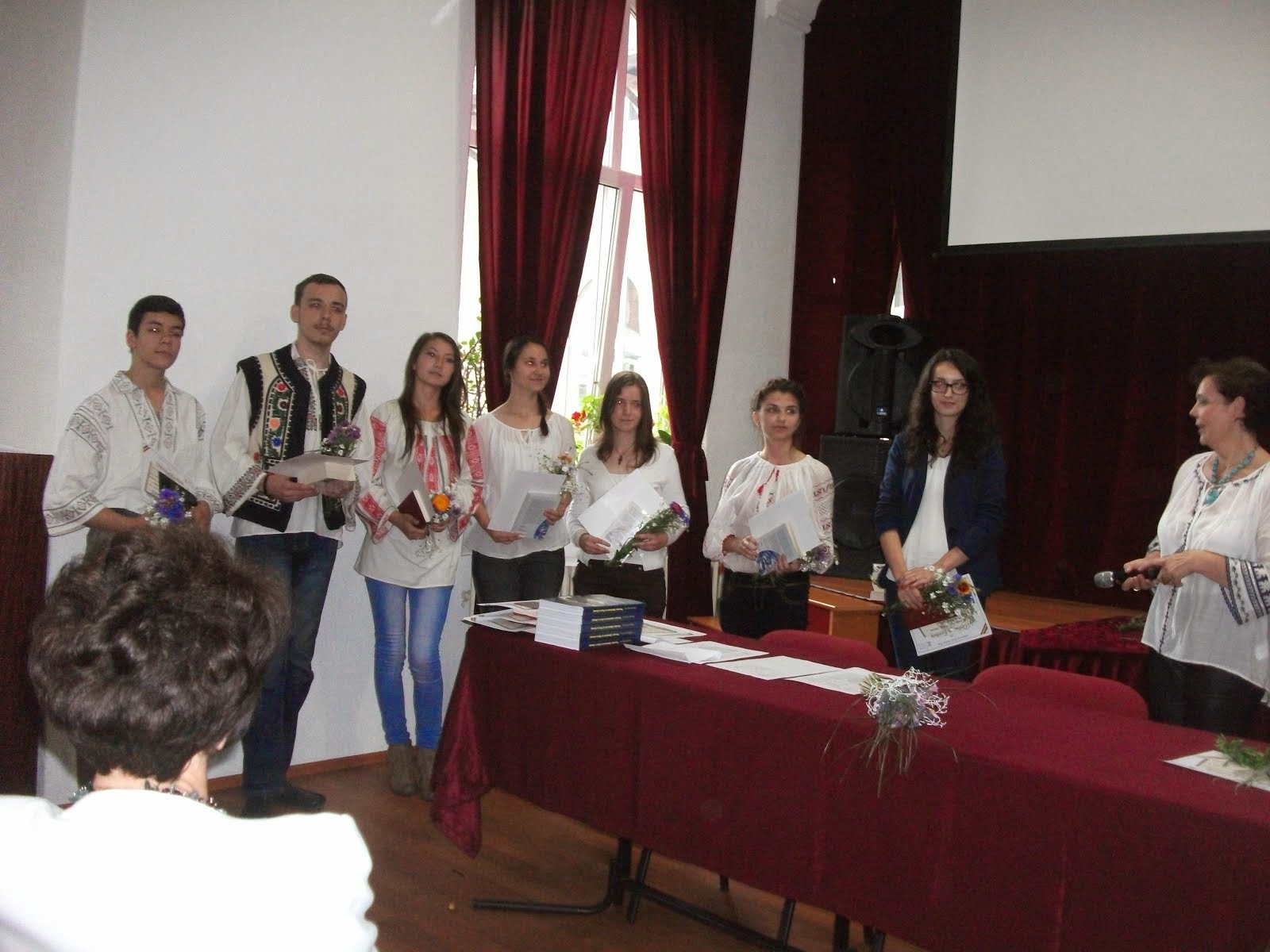 "Aspecte de la Gala Premiilor ""Herodot"", CNCH-Piatra Neamţ, 17 iunie 2014.."