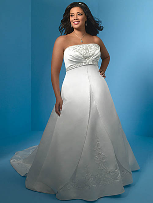 Sayumi plus size short wedding dresses for Plus size wedding dresses cheap