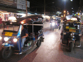 Tuk-Tuk Rides in Bangkok