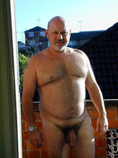 Stocky Man Nude
