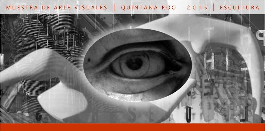 Muestra de Artes Visuales Quintana Roo 2015. Tridimensional