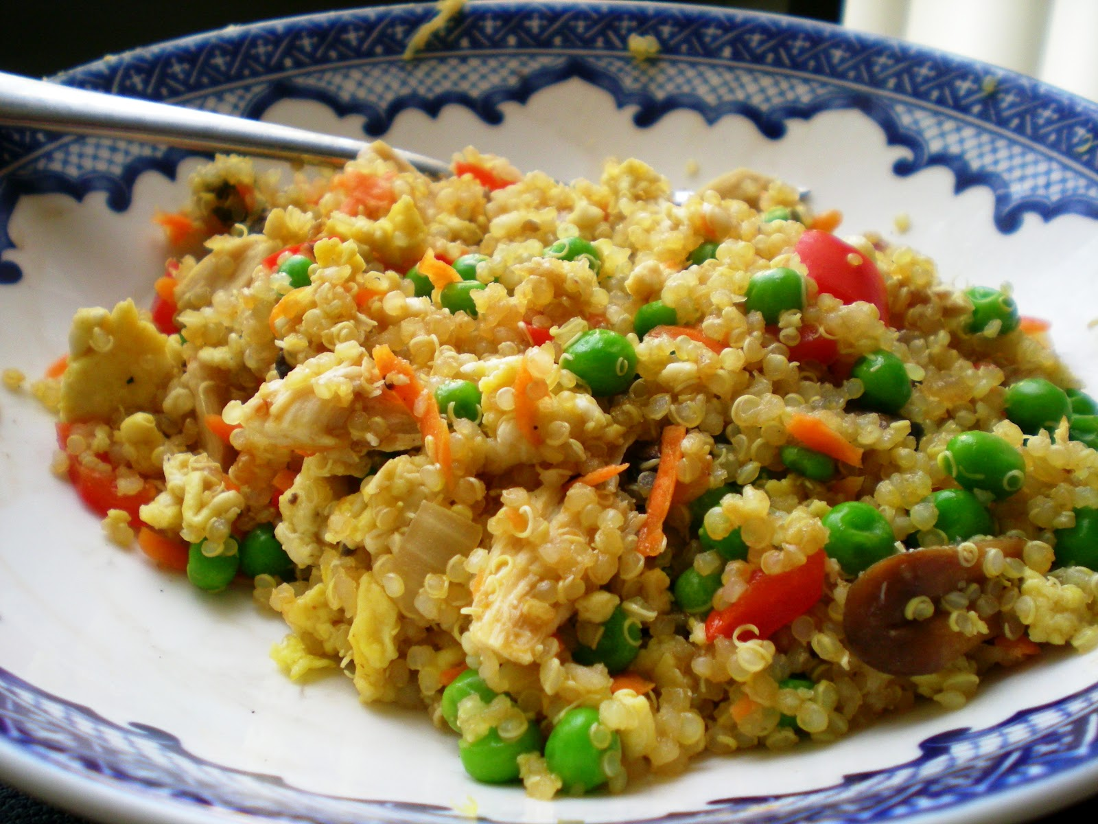 quinoa and red rice stuffing egg fried rice egg fried rice fried rice ...