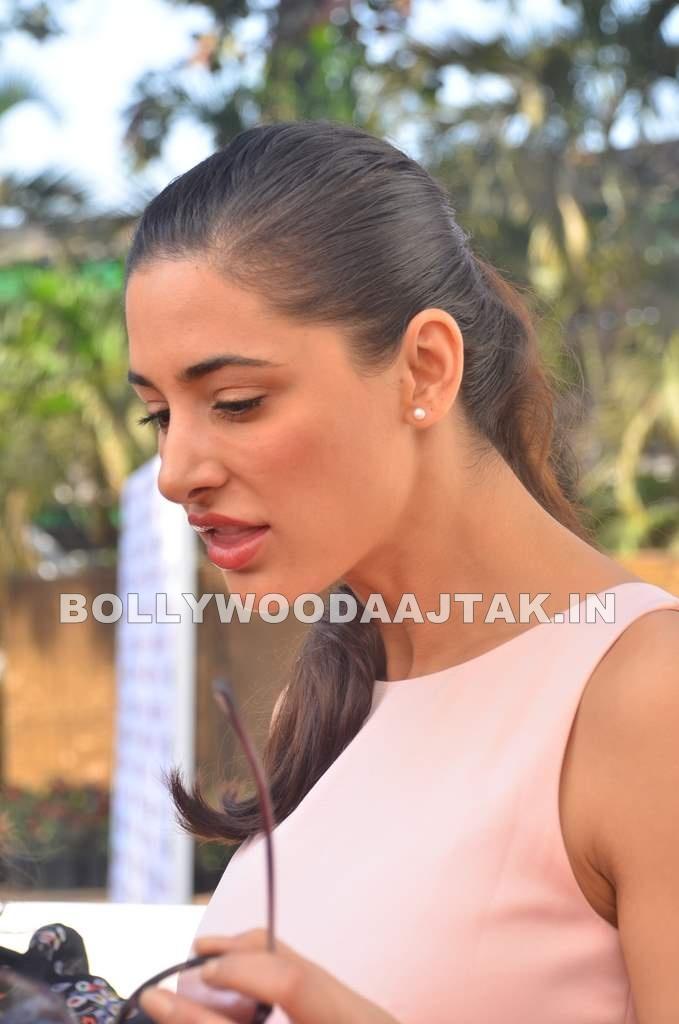 , Nargis Fakhri At Elle Race