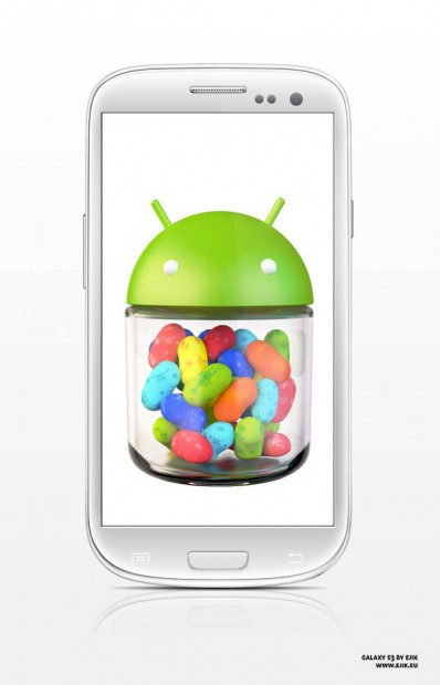 Galaxy S3 jellybean I9300XXELK4