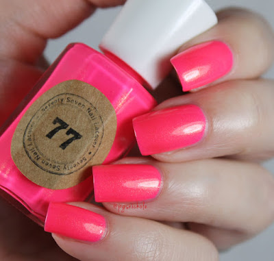 Seventy Seven Nail Lacquer Don't Call Me Barbie by Bedlam Beauty
