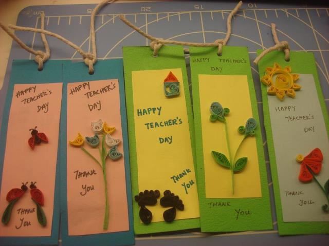 Teachers Day Card Making Ideas Part - 42: Homemade Teacheru0027s Day Gift Ideas