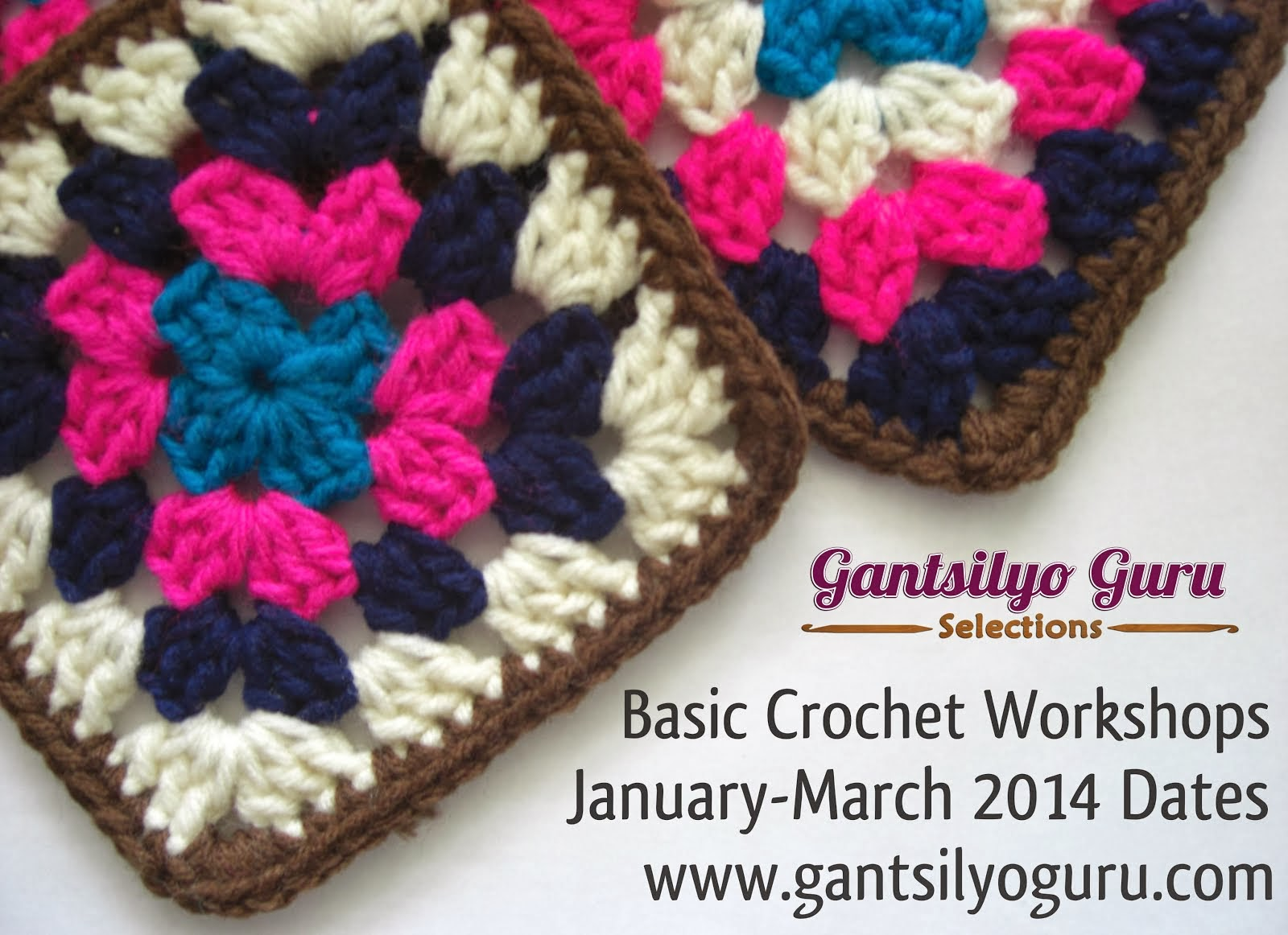 Join My Basic Crochet Workshop