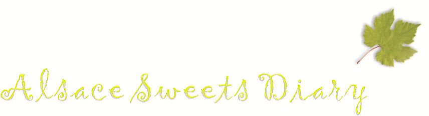 Alsace Sweets Diary