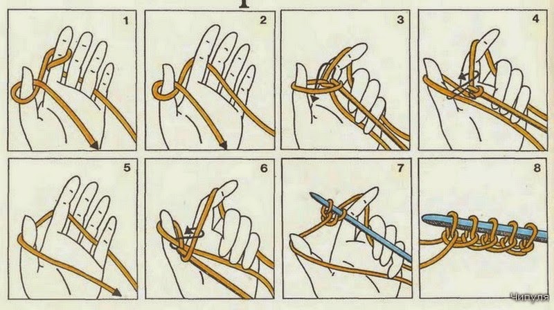 Петля в вязании для пуговиц
