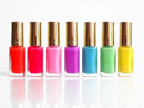 en effet la marque vient tout juste de lancer une nouvelle collection de ses fameux vernis ongles color riche que jadore la collection non - Vernis L Oral Color Riche