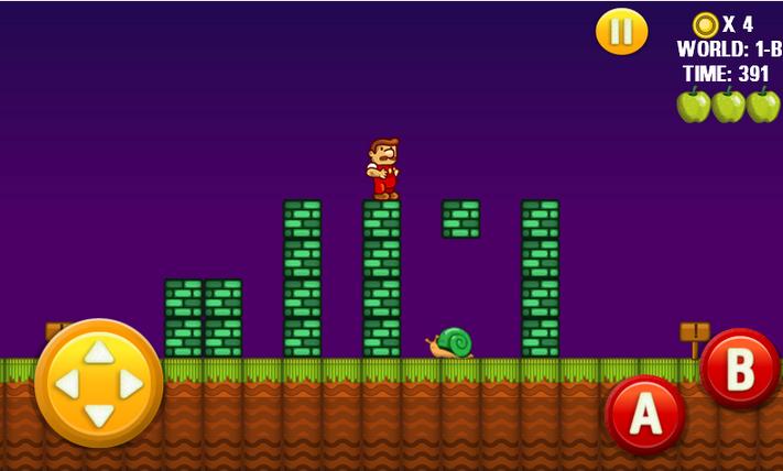 Steve's World - Game Mirip Mario Bross