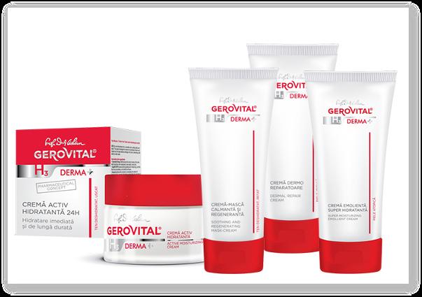 Gama Gerovital H3 Derma+