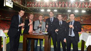 Frank Spooren - Rikwin - Schaffer - Edwin van de Sar Ajax Weekend