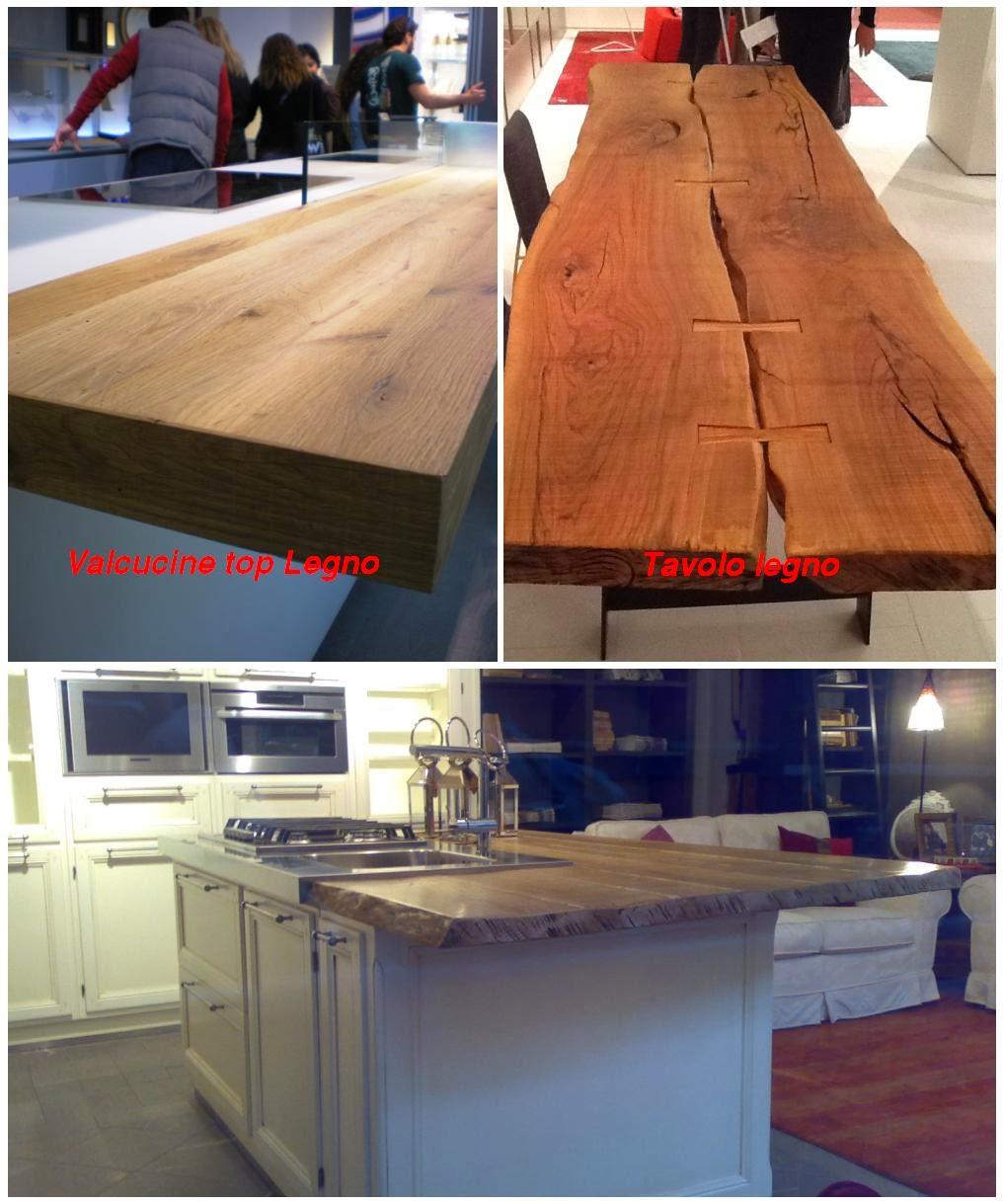 La casa rosso papavero i miei preferiti - Tavolo cucina legno grezzo ...