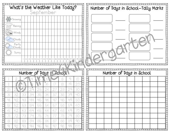 Calendar Math Binders Kindergarten : Time kindergarten throw back thursday calendar math