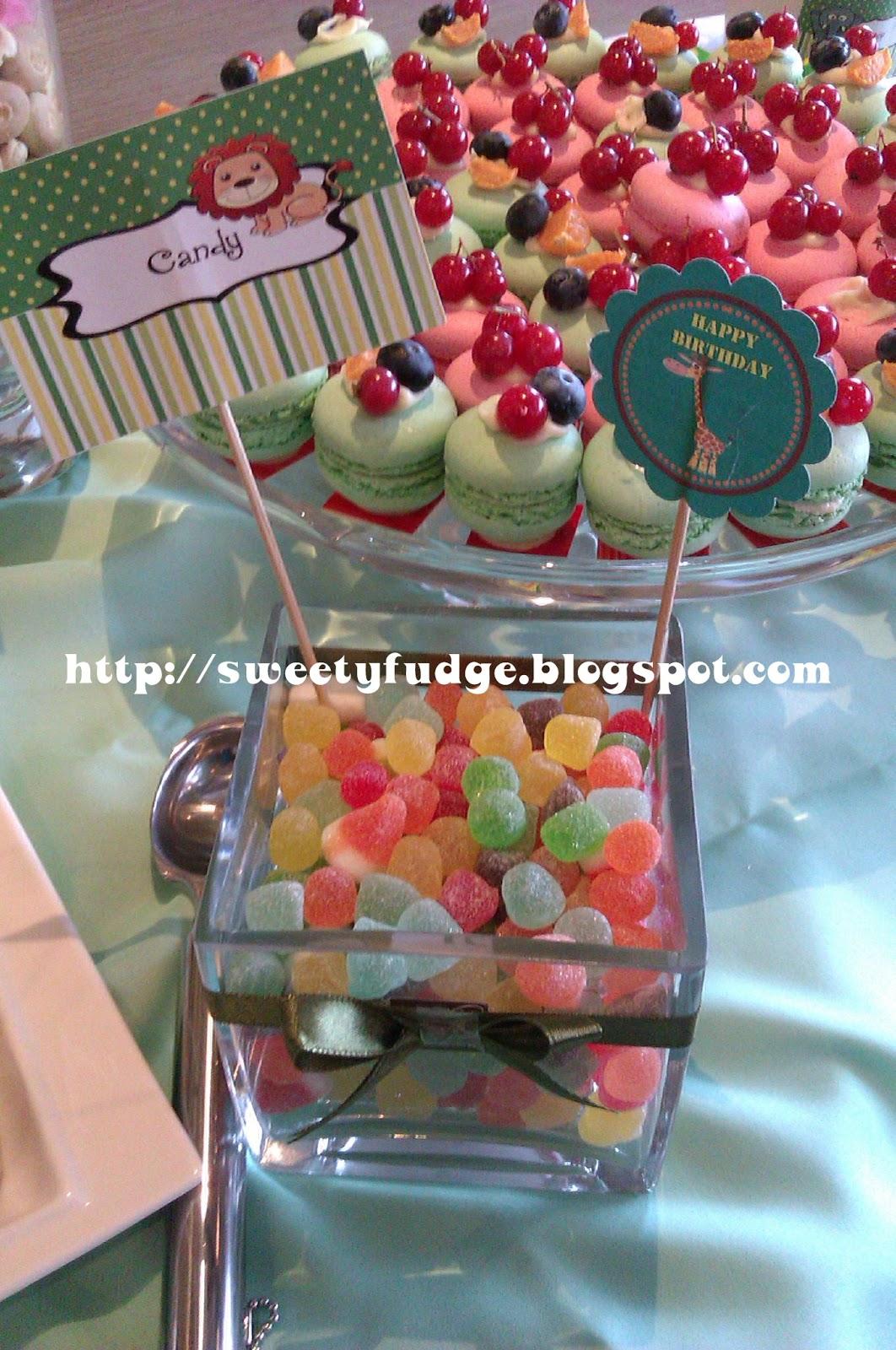 Sweetyfudge Bakery (001925672-X): Candy Buffet: Aqiqah