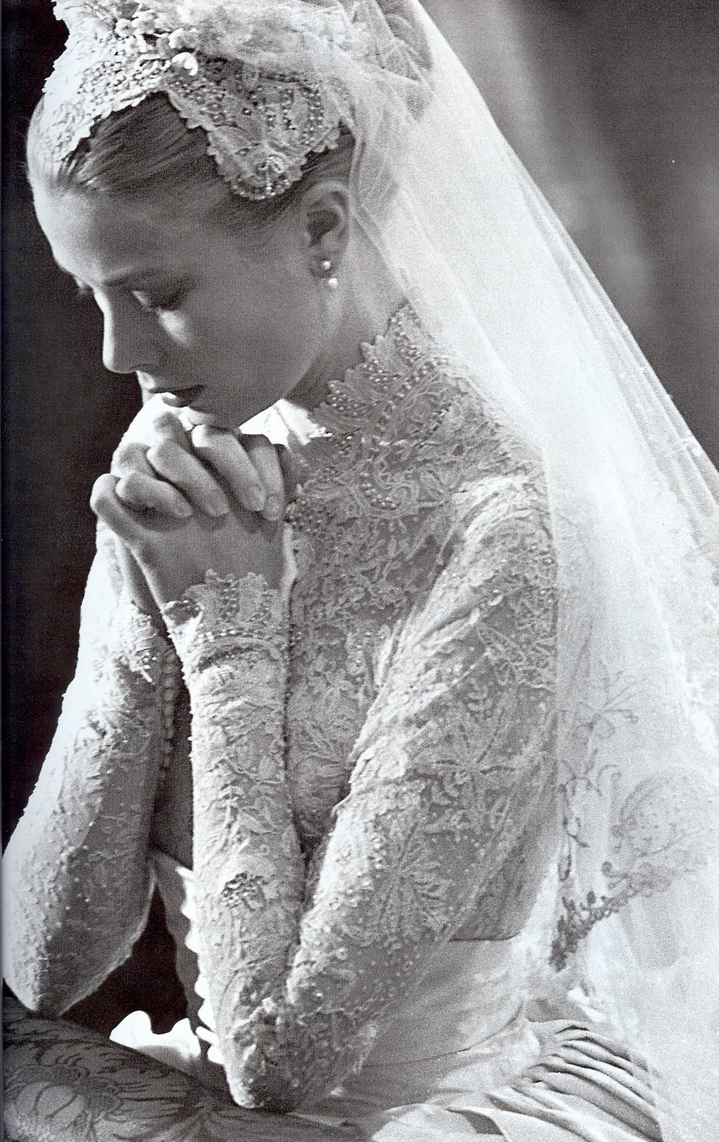 Beauty and the green most memorable iconic wedding dresses for Grace kelly dress wedding