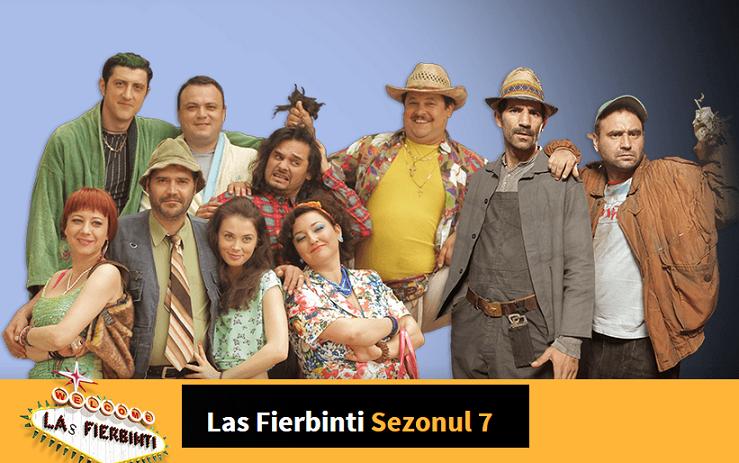 Las Fierbinti Sezonul 8 Episodul 1  online