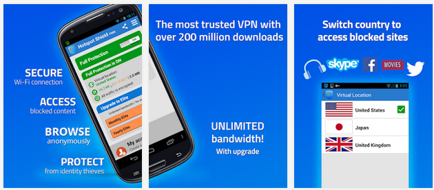 Download Hotspot Shield free for Win-MAC-APK-iOS 2.1.4