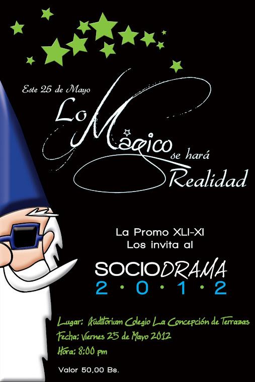 Pendón Publicitario Sociodrama 2012