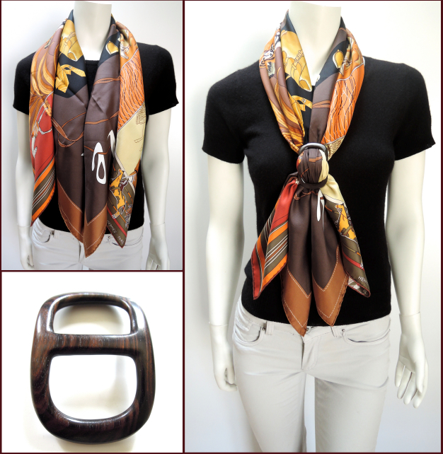 scarf ring how to use