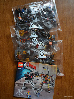 lego: metalbeard's duel - polybags one two three