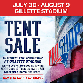 2015 Patriots ProShop Tent Sale!  sc 1 st  Patriots ProShop Blog & Patriots ProShop Blog: 2015 Patriots ProShop Tent Sale!