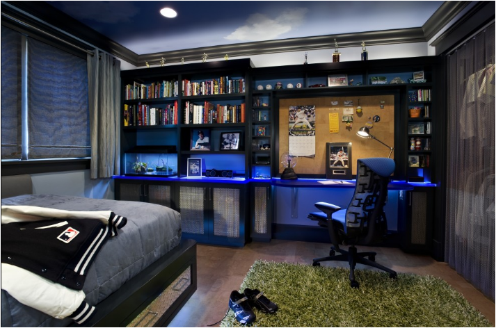 Cool Dorm Rooms Ideas for Boys ~ Room Design Ideas ~ 072157_Dorm Room Themes For Guys