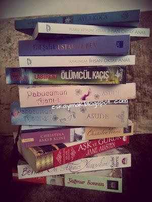 kitap, Kitap OkuYorum, roman, yağmur sonrası, pabucumun ajanı, asude, martı, ephesus, ayla koca, labirent, ölümcül kaçış, pegasus, book,