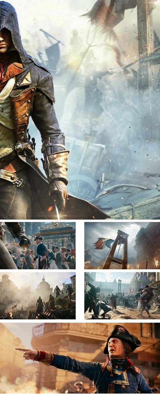 Assassin's Creed Unity Theme For Windows 7 And 8 8.1 | Ouo ...
