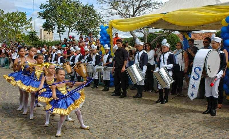Município de Zabelê comemora o dia 7 de setembro