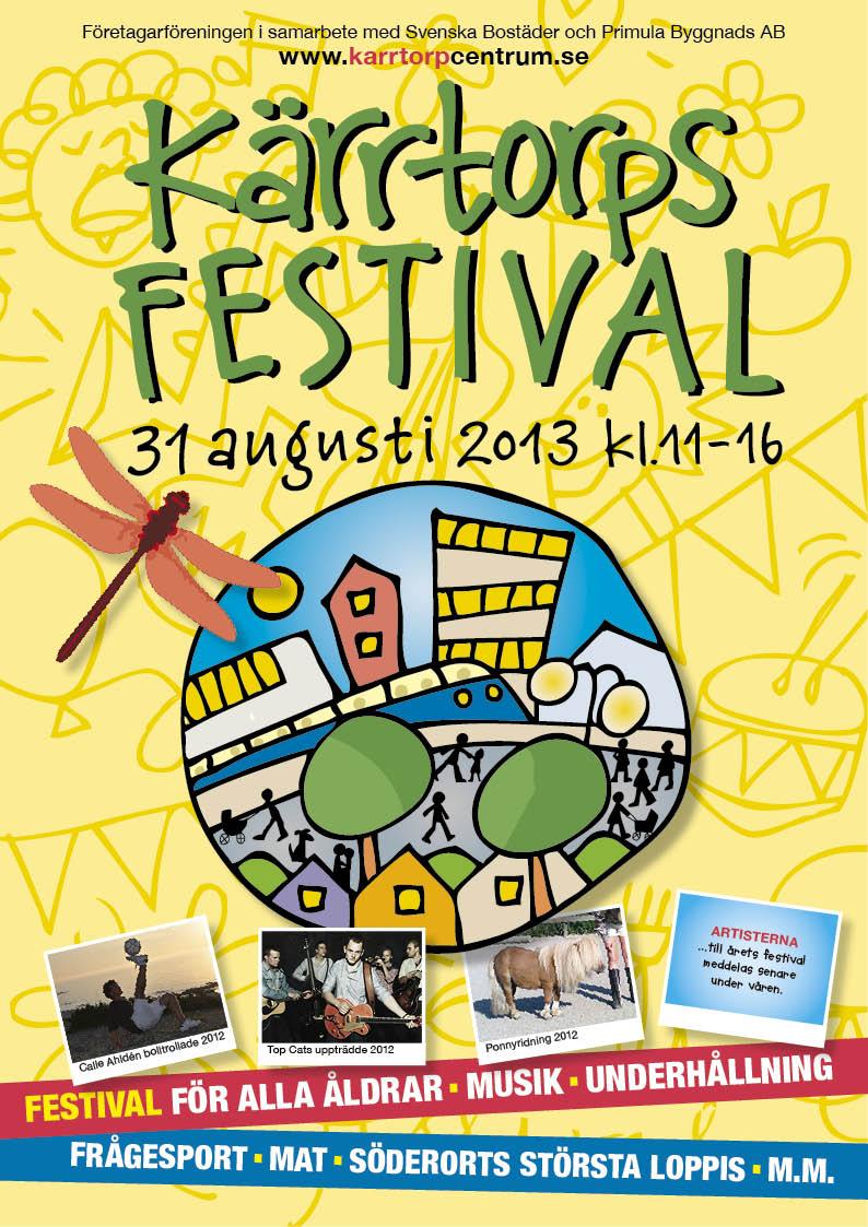Poster för Kärrtorps festival