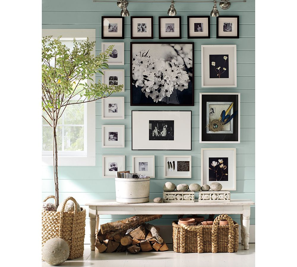 picture frame wall decor ideas 50. chic picture frame design and ...