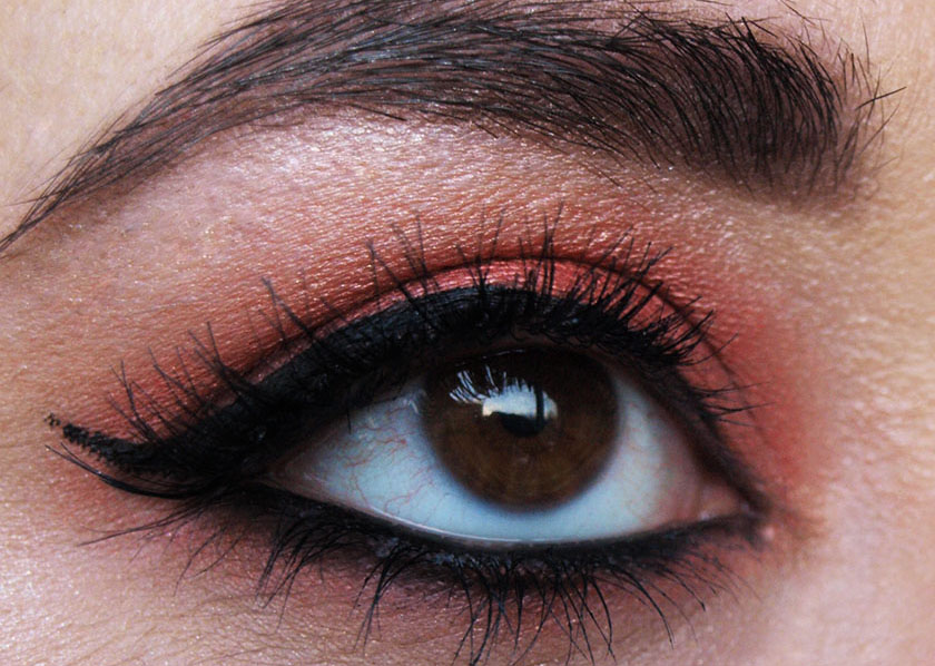 ... UK beauty, fashion and lifestyle blog: MAC Coppering Eye Makeup Look