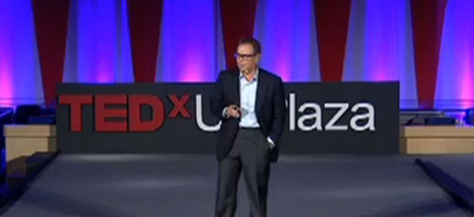 David Cooperrider at TEDxUNPlaza on Sept. 16, 2013