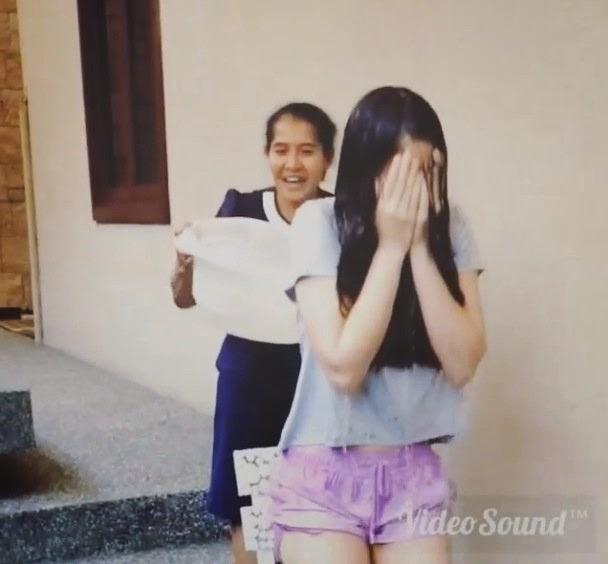 Video Adik Neelofa Pakai Seluar Pendek Tayang Peha Buat Ice Bucket Chellange