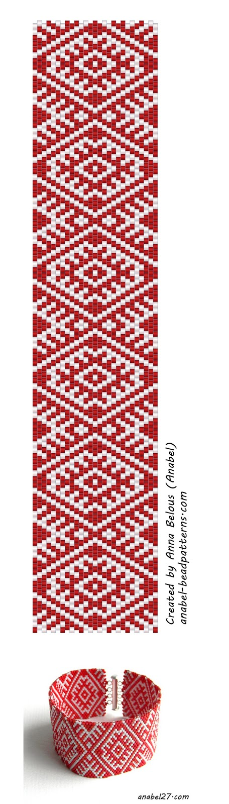 схемы для бисероплетения free peyote patterns Мозаика